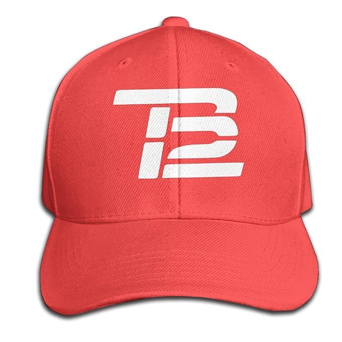Tom Brady TB12 Children Red Snapback Hip Hop Plain Hat