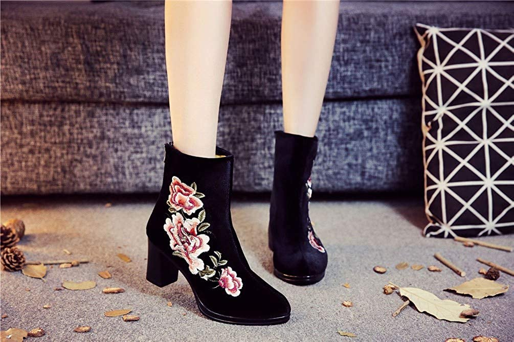 Damen Stiefel Stiefel Stiefel   Stiefel  high Heels, Martin Stiefel, leinwand Stiefeln, Frauen - Stiefel, im frühling und Herbst. 2d05a7