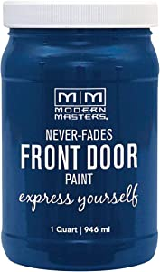 Modern Masters 275270 Front Door Paint, 1 Quart, Satin Calm