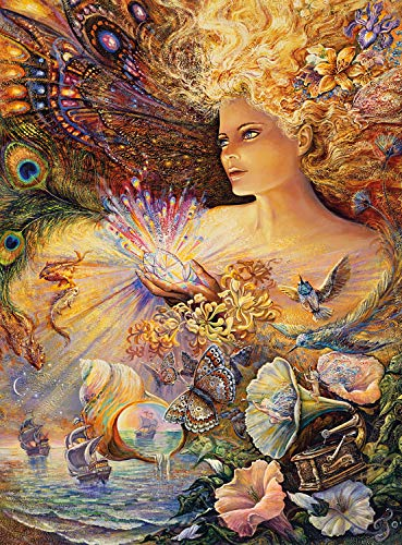 Buffalo Games - Josephine Wall - Crystal of Enchantment - 1000 Piece Jigsaw Puzzle