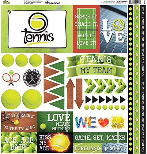(Reminisce TEN100 Tennis Elements Stickers 12
