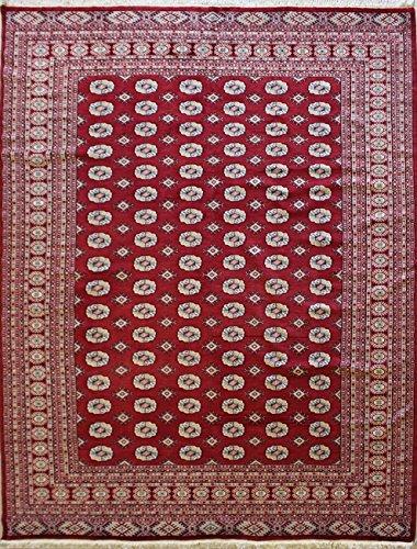 Amazon Com 8 0 X 10 0 Pak Mori Bokhara Area Rug With Wool