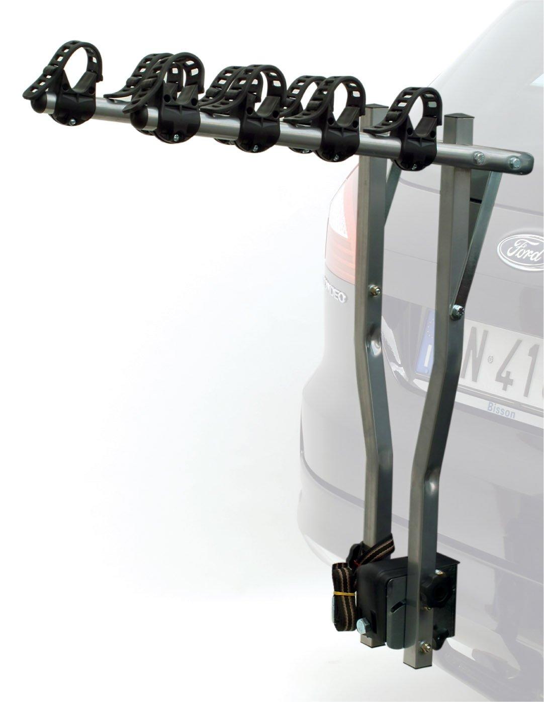 ETC Deluxe Porte-vélos pour voiture Argenté Capacité 4vélos ERR027