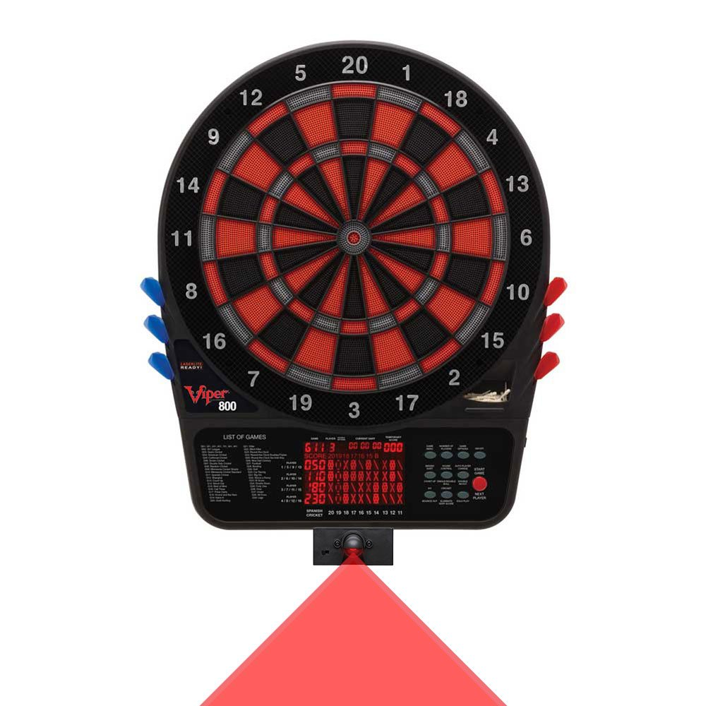 Viper 800 Dartboard and LaserLite Throw Line