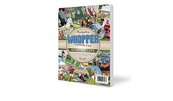 Hunkydory Whopper Topper Pad-Déjouée /& Die-Cut Topper Feuilles 300gsm