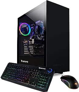 iBUYPOWER Pro Gaming PC Computer Desktop ARCB 108Av2 (AMD Ryzen 3 3100 3.6GHz, NVIDIA GT 710 1GB, 8GB DDR4 RAM, 1TB HDD, Wi-Fi Ready, Windows 10 Home)