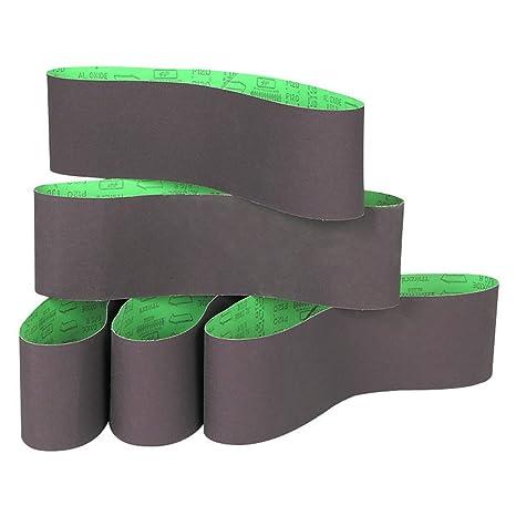 5pc 1 X 30 Sanding Sandpaper Belts 80 Grit Aluminum Oxide For Woodworking