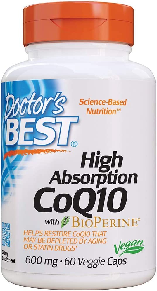 Doctor's Best High Absorption CoQ10 with…