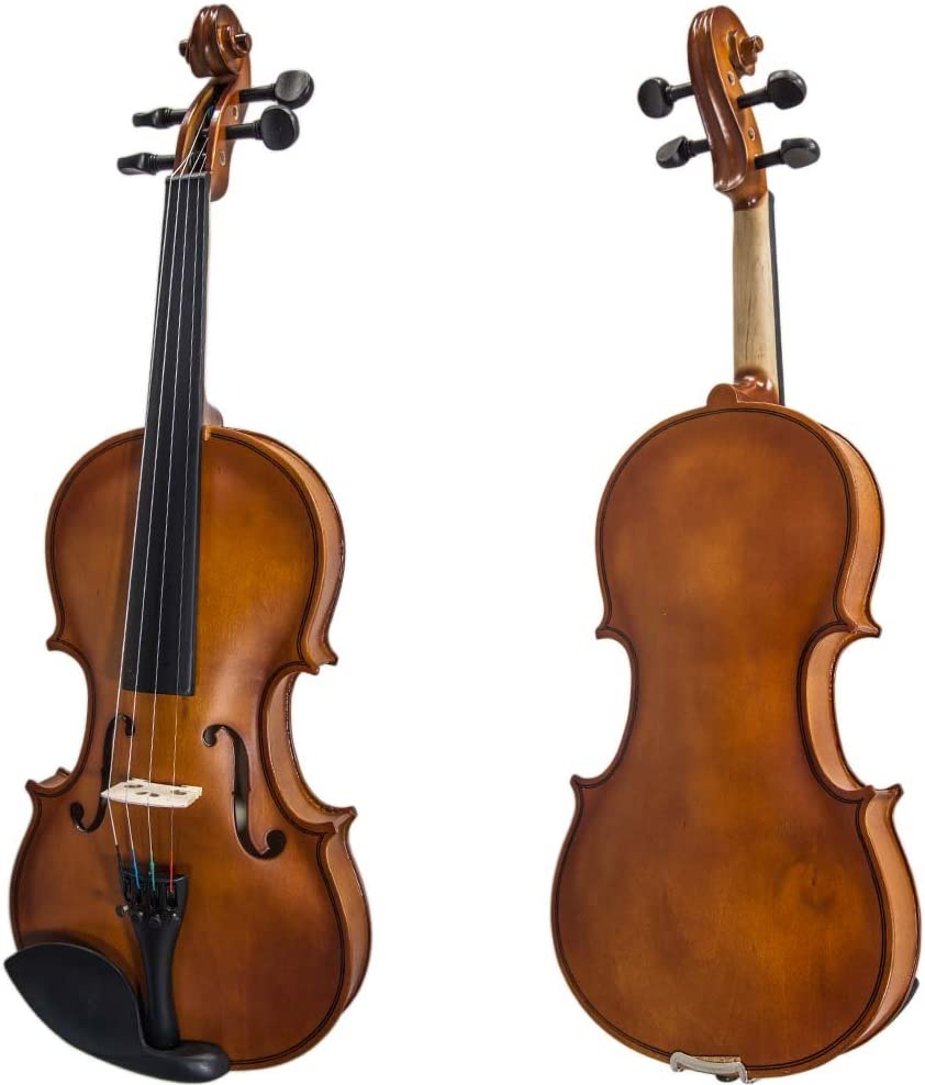 SKY(Paititi) 1/4 Size SKYVN102 Student Violin with Lightweight Case, Brazilwood Bow, Shoulder Rest, String, Rosin and Mute