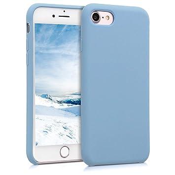 coque apple iphone 8 bleu pastel