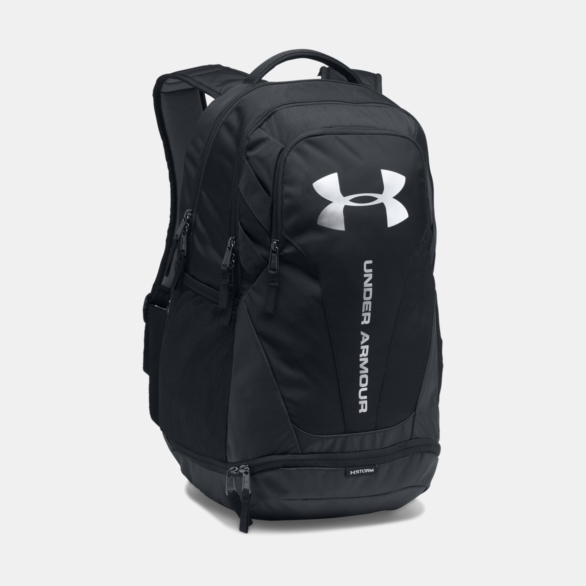 [UNDER ARMOUR] アンダーアーマー Men's UA Hustle 3.0 Backpack Black /Black [並行輸入品] B0753BK2RJ