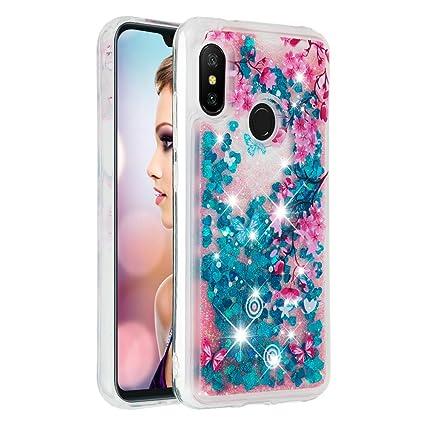 Amazon com: Glitter Case for Xiaomi Mi A2 Lite, Soft TPU