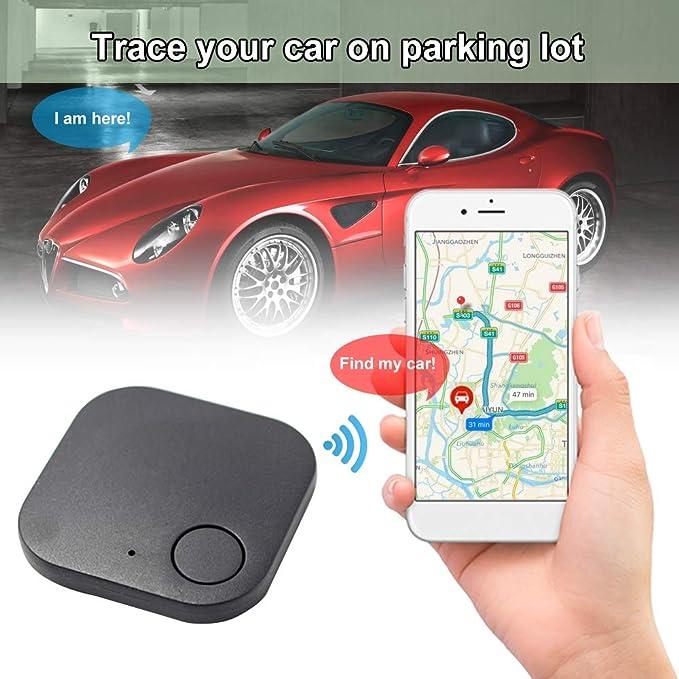 Lasamot Dispositivo Anti-smarrimento Intelligente BT Motore per Auto Animali Domestici Allarme Bambini Localizzatore di localizzatore in Tempo Reale