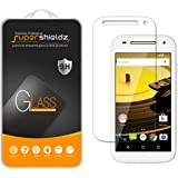 [2-Pack] Supershieldz for Motorola Moto E (2nd Gen / Generation) Tempered Glass Screen Protector, Anti-Scratch, Anti-Fingerprint, Bubble Free, Lifetime Replacement Warranty