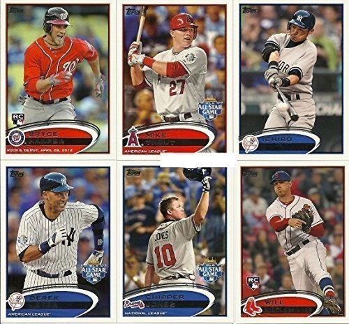 Joe Mauer Home Jersey - 2012 Topps Traded Baseball Updates and Highlights Series Complete Mint Hand Collated 330 Card Set; It Was Never Issued in Factory Form, Loaded with Rookies Including Bryce Harper, Yu Darvish, Yoenis Cespedes and more