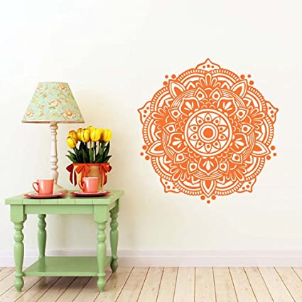 Amazon.com: BATTOO Mandala Wall Decal- Mandala Decal- Yoga ...