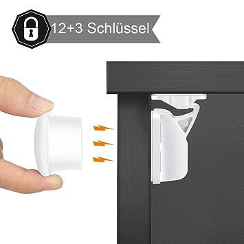 Anti-Prise Hand Türsicherung Schranksicherung Kindersicherung Schrankschloss Neu