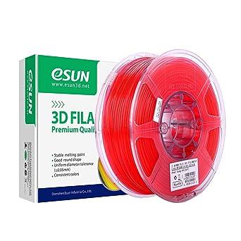 eSUN Transparent PLA Filamento de Impresora 3D, Filamento PLA 1.75 ...