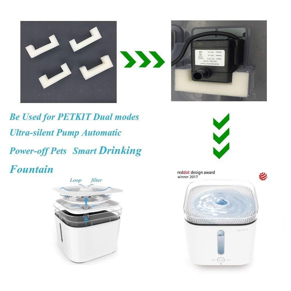 Foam Filter for PETKIT EVERSWEET Pet Water Fountain: Amazon.es: Productos para mascotas