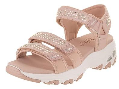 e8f77ded3c0a Skechers Women s D Lites - Retro Glam Sandal  Amazon.co.uk  Shoes   Bags