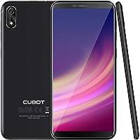 CUBOT J3 Android Go Smartphone Unlocked, 5.0 inch (18:9) Touch Screen, 1GB RAM+16GB ROM,3G Dual SIM, 8MP+5MP Dual Camera, WIFI, GPS, G-sensor,Bluetooth (Black)