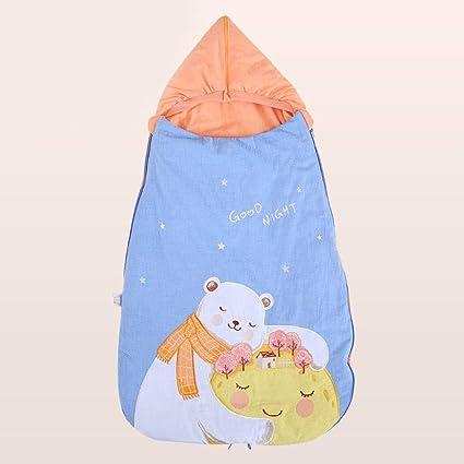 Amazon.com: GAOYY Invierno para Los Recién Nacidos Sueño Calido Sacos para Dormir Algodón Envolver 4-24 Meses 93-45cm,C-93X45CM: Home & Kitchen