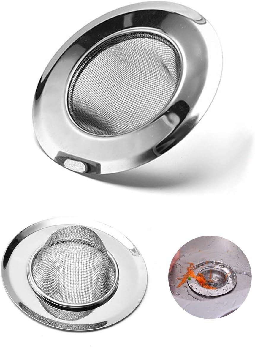 axuanyasi 2/x Acero Inoxidable Resistente Red para Lavabo Colador tap/ón Filtro Trampa Pelo atrapasue/ños