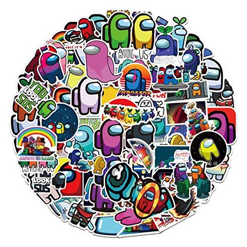 🥇 100Pcs Cartoon Game Vinyl Stickers Decals