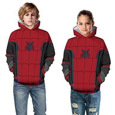 Avengers Infinity War Spiderman Hoodie Iron spider-man Coat Jacket 3D Sweatshirt