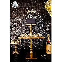 TRLYC Black Sequin Wedding Head Table Backdrop-3ftx7ft