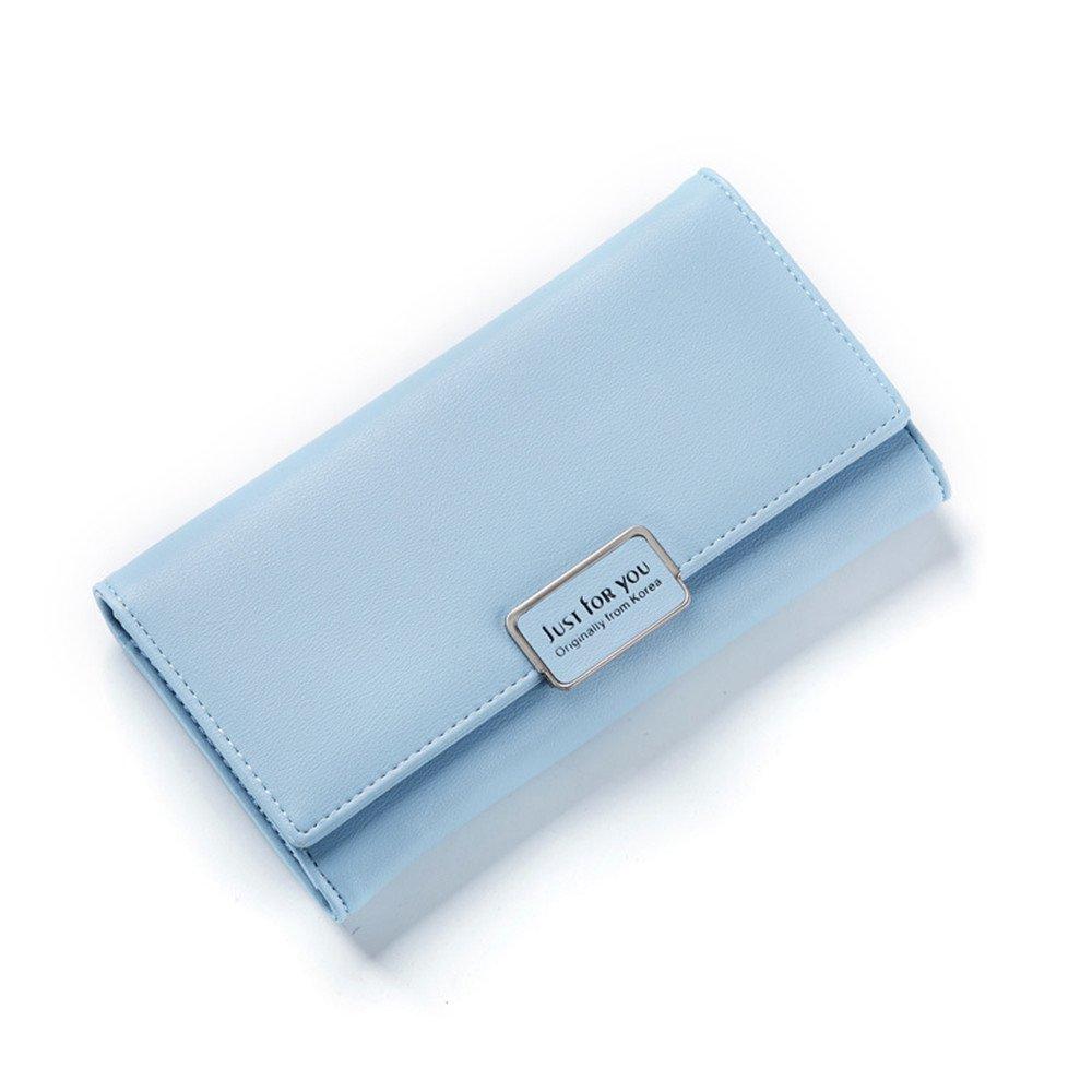 Women Large Capacity Soft Leather Wallet Travel Passport Purse Chain Shoulder bag Handbag