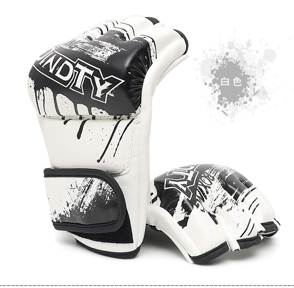 Adult Boxer Set, Fighting Sanda Guanti Da Combattimento, Sport Outdoor Attrezzature Protettive,white
