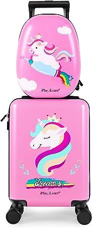 iPlay, iLearn Unicorn Kids Luggage