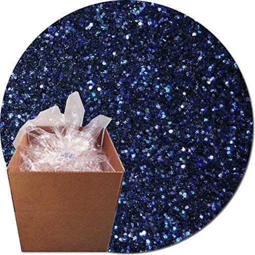Glitter My World! Craft Glitter: 25lb Box: Black Dragon Iridescent by Glitter My World!