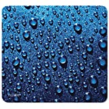 Raindrop Mouse Pad, Blue
