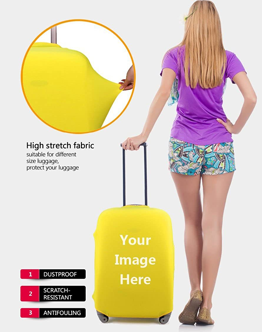 Bigcardesigns Luggage Protective Covers for 18-30 Suitcase Elastic