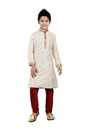 1724086e07 Image Unavailable. Image not available for. Color: Baby/Boy Readymade Kurta  Pajama Indian Designer ...