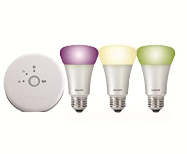 Hue Compatible Lampen : Philips hue led personal wireless lighting eek a 3 x 9w a60