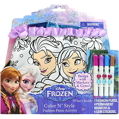 Disney Frozen Color N' Style Fashion Purse (Elsa Arts And Crafts)