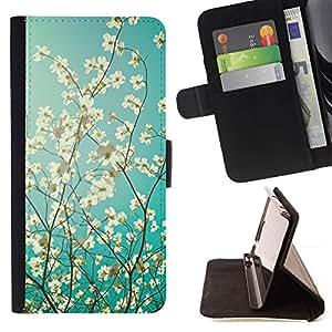 Momo Phone Case / Flip Funda de Cuero Case Cover - Sol y sombra soleado verano - Huawei Ascend P8 (Not for P8 Lite)