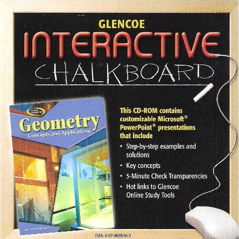 Glencoe Mathematics - Geometry: Concepts and Applications