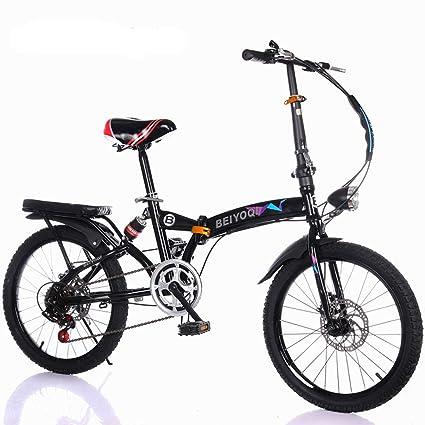 Urcar 20 Pulgadas Bicicleta Plegable Bicicleta de Viaje para ...