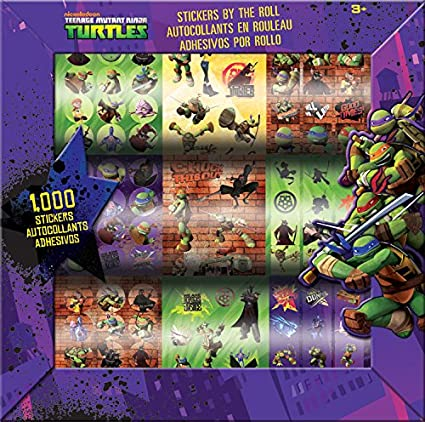 Amazon.com: Teenage Mutant Ninja Turtles 1.000 pegatinas por ...