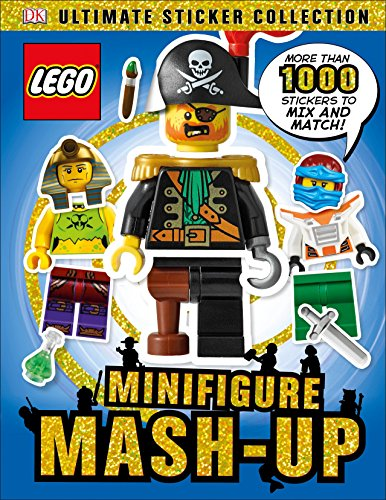 (Ultimate Sticker Collection: LEGO Minifigure: Mash-up! (Ultimate Sticker Collections))