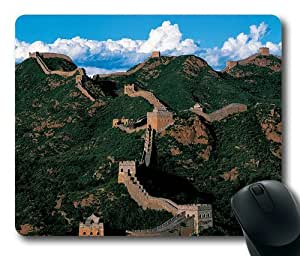 China,Beijing,Jinshanling the Great Wall Rectangle Mouse Pad,Gaming Mouse Pad by Lilyshouse