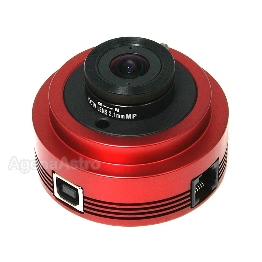 ZWO ASI120MC 1.2 MP CMOS Color Astronomy Camera with USB 2.0 - ASI120MC