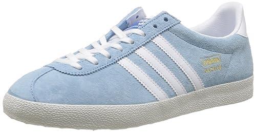 buy popular c42e5 d1423 adidas OriginalsGazelle Og - Basse Uomo, Blu (Bleu (BleuagBlancBleazu