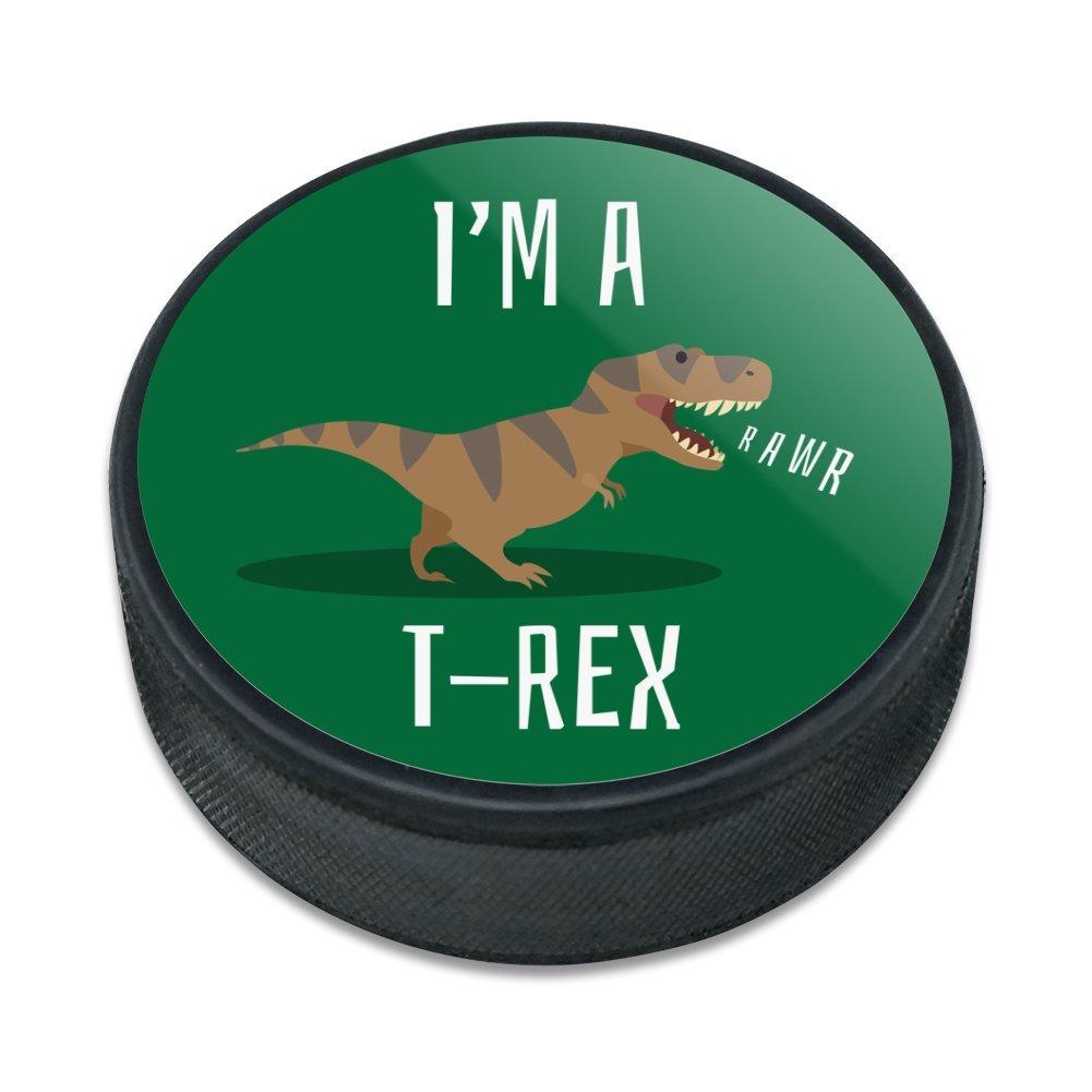 GRAPHICS & MORE Im A T-Rex Rawr Cute Tyrannosaurus Rex Ice Hockey ...