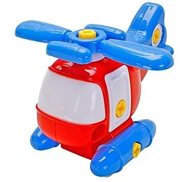 DIY Zusammenbau Hubschrauber Spielzeug für Kinder /& Babys