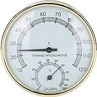 Biunixin Termómetro Digital para Sala de Sauna, higrómetro para Sauna Medidor de Temperatura de Humedad